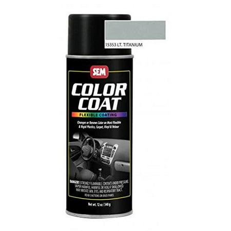 Light Titanium Aerosol - SEM Products Color Coat- Light Titanium, Aerosol 15353