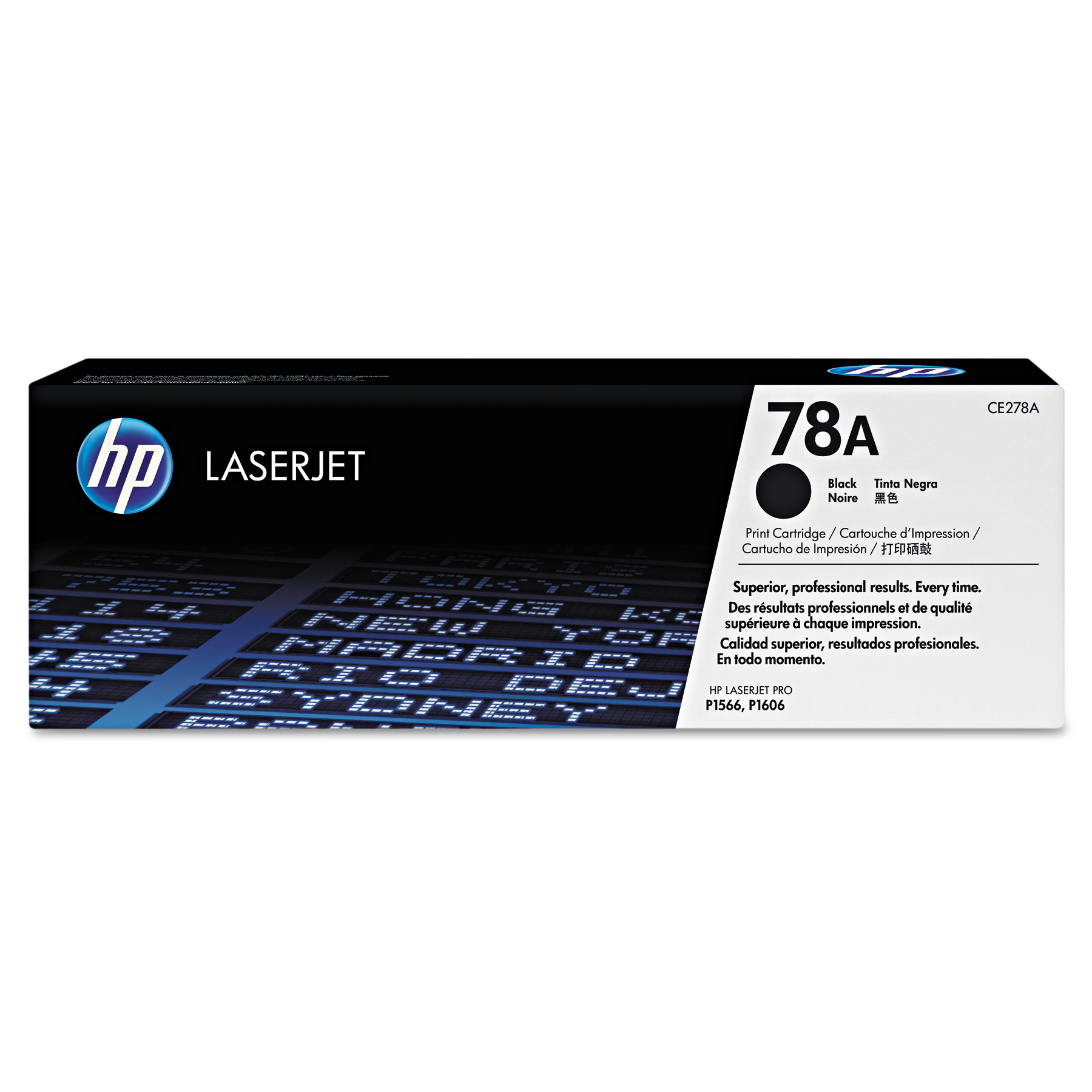 HP 78A Black Original LJ Toner Cartridge (CE278A)
