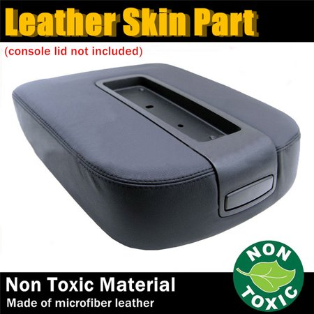 Suburban Bench Console - Car Leather Console Skin Lid Armrest Cover For 07-13 Chevy Tahoe Suburban Yukon Sierra