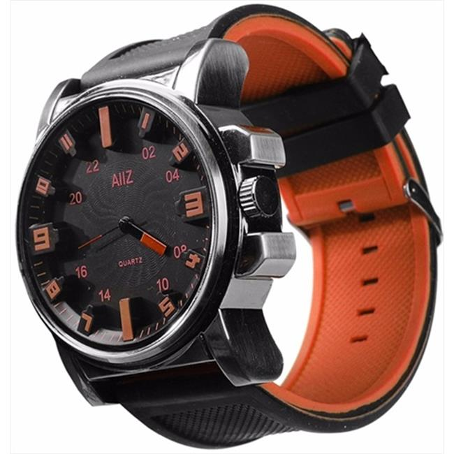 Mad Style 6204D Orange Mm Big Boy Watch