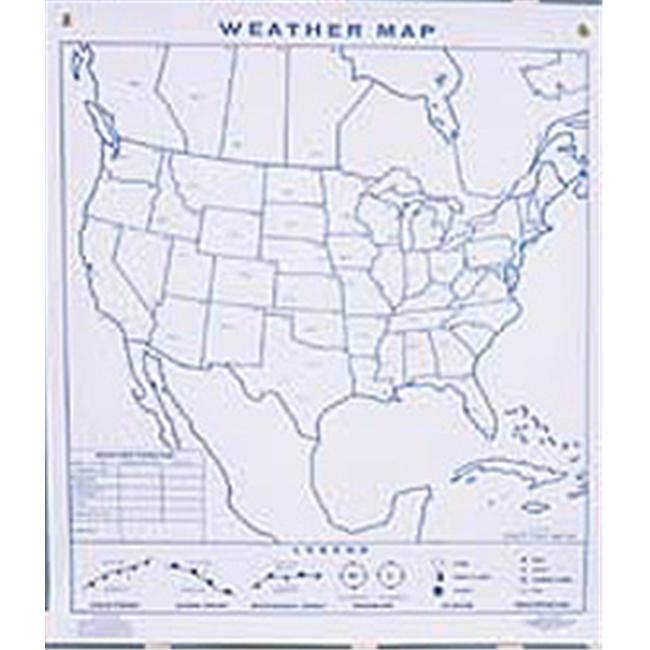 Hubbard Scientific 464 Weather Climagraph  Pad 50 Sheets