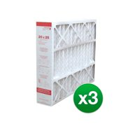 20x25x4 Air Filter Replacement for AC & Furnace MERV 11 - 3 Pack