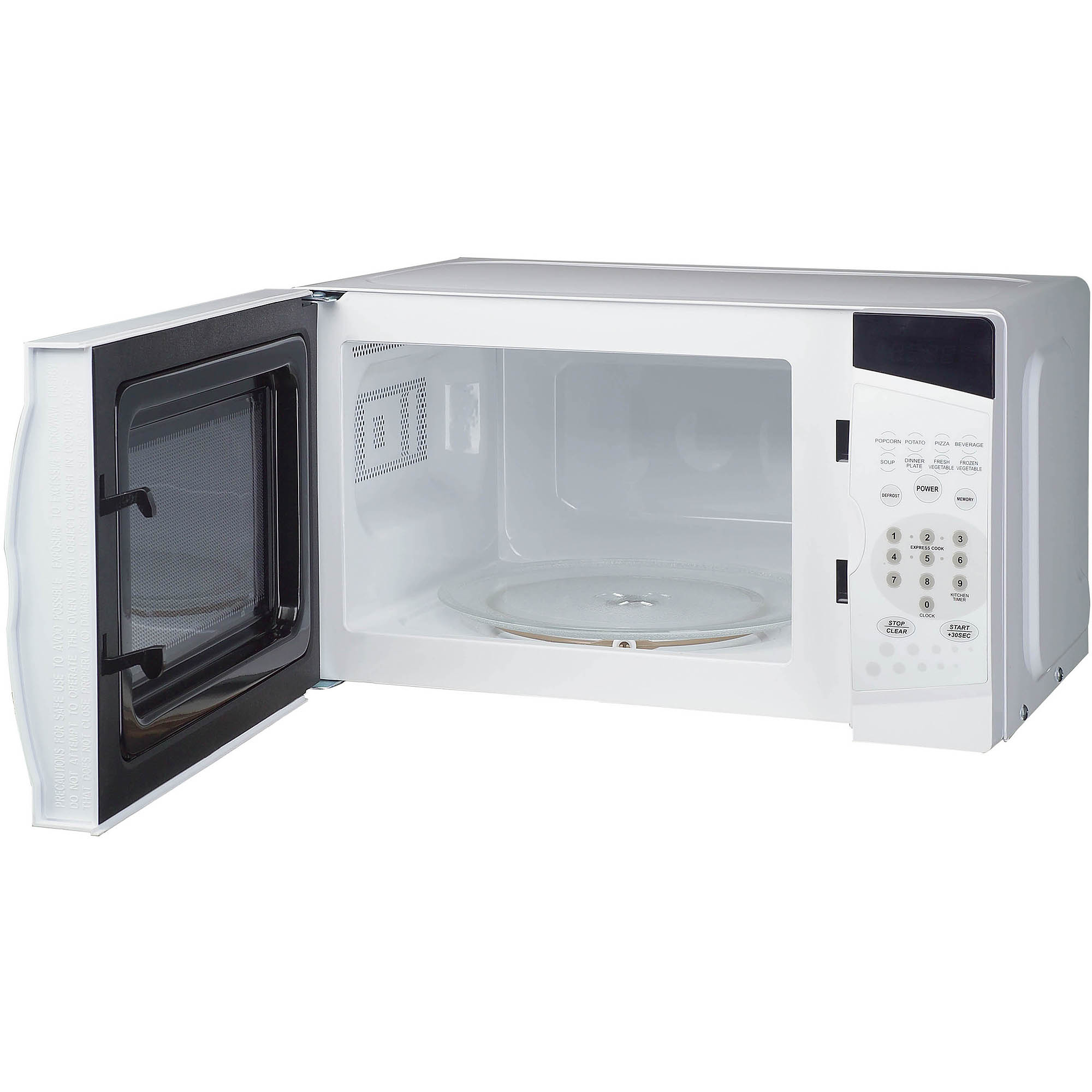 Magic Chef 0.7 cu ft Countertop Microwave, White