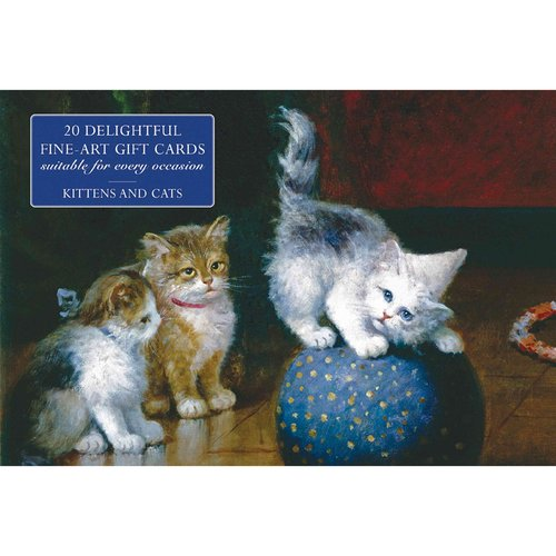 Card Box of 20 Notecards and Envelopes: Kittens and Cats: A Delightful Pack of High-Quality Fine-Art Gift Cards and Decorative Envelopes
