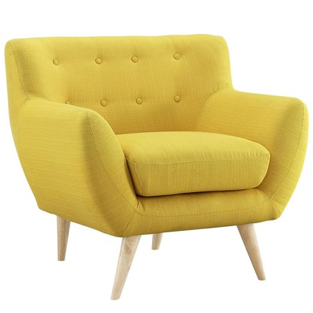 Hawthorne Collections Upholstered Accent Chair in Sunny - image 5 of 5