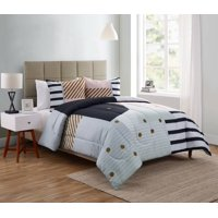 Your Zone Rizo Geometric Duvet Cover Set