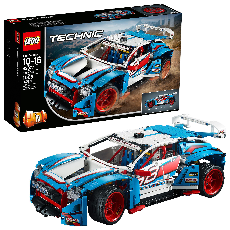 LEGO Technic Rally Car42077Building Set (1,005 Pieces) - Walmart.com