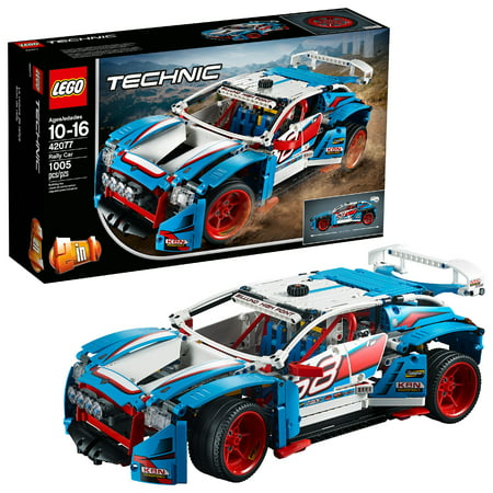 LEGO Technic Rally Car 42077 Building Set (1,005 Pieces) ()