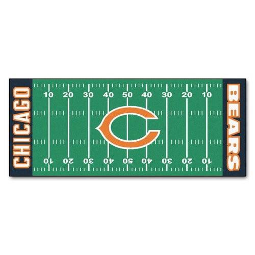 NFL Chicago Bears Football Field Runner