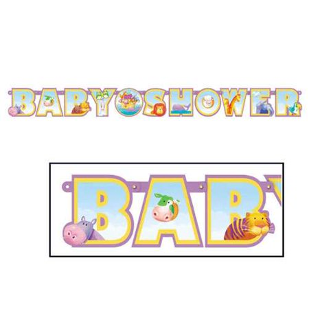 Noah's Ark Baby Shower Banner (Noah's Ark Baby Shower Theme)