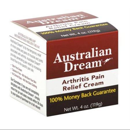 Australian Dream soulagement de la douleur de l'arthrite crème, 4 oz (Pack de 2)