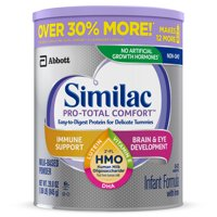 Similac Pro-Total Comfort Baby Formula For Immune Support, With 2'-FL HMO, 4 Count Powder, 1.86-lb Can