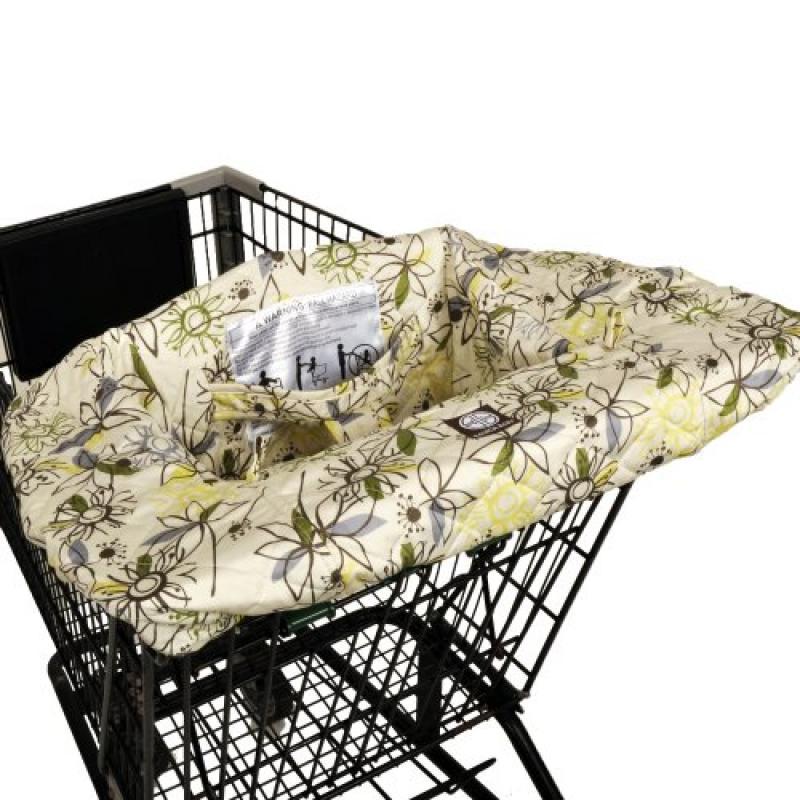 Balboa Baby Shopping Cart Cover, Retro Flower