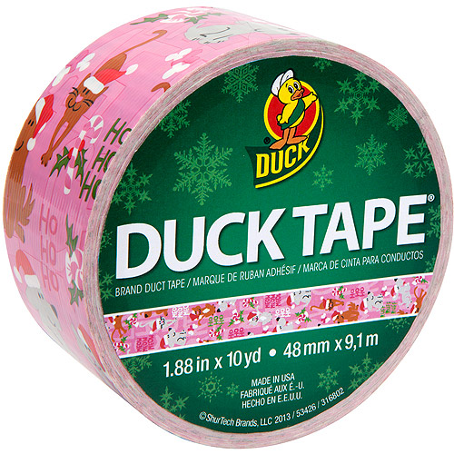 Duck Brand Holiday Tape, 10-Yard Roll