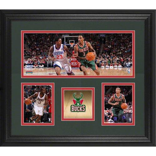 NBA - Milwaukee Bucks Framed 3-Photograph Collage