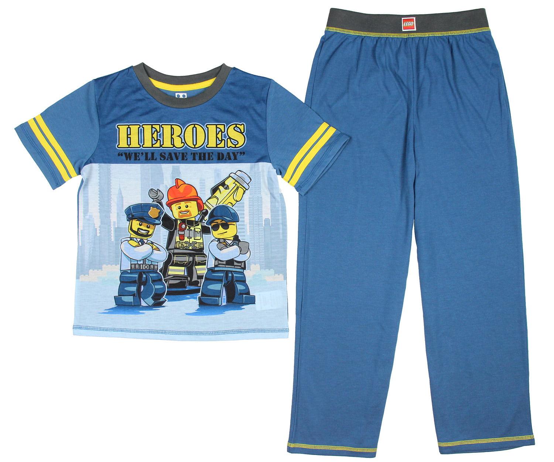 Fireman Sam Boys Long Pajamas Saving The Day