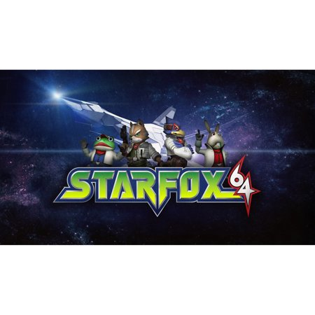 N64 Star Fox 64, Nintendo, WIIU, [Digital Download], 0004549666199