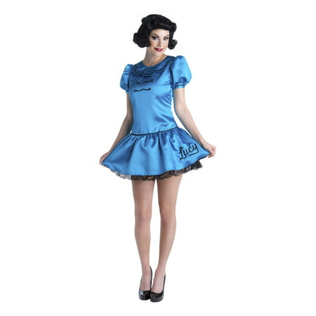 Charlie Brown - Deluxe Lucy Adult Halloween Costume