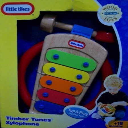 Little Tikes Timber Tunes Xylophone, Wood Toy