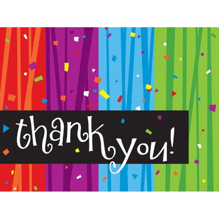 8-Count Thank You Notes, Milestone Celebrations - image 1 of 1