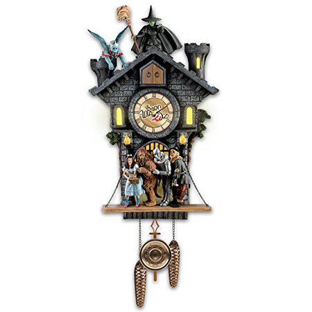 All In Good Time, My Little Pretty Cuckoo Clock With Barking Toto by The Bradford (Bradford Exchange Bunny)