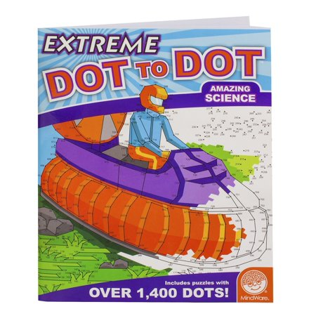 Extreme Dot to Dot: Amazing Science, TOYS THAT TEACH: Studies show that connect-the-dot puzzles are one of the best tools for teaching children.., By (Best Tools To Learn French)