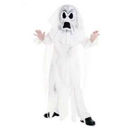 Boys Ghost Halloween Costume With Robe And Mask Spirit - Spirits Holloween