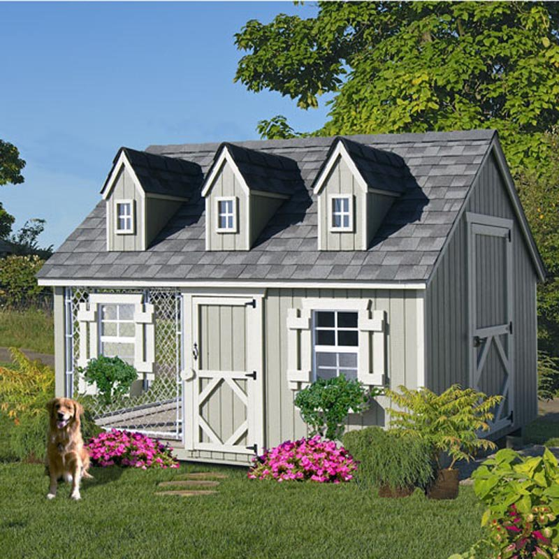 Little Cottage Cape Cod Cozy Cottage Kennel Dog House