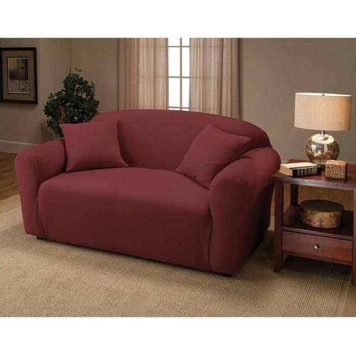 Madison Jersey Stretch Slipcover, Loveseat