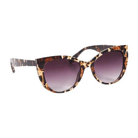 Leopard Plastic Cateye (Leopard Sunglasses)