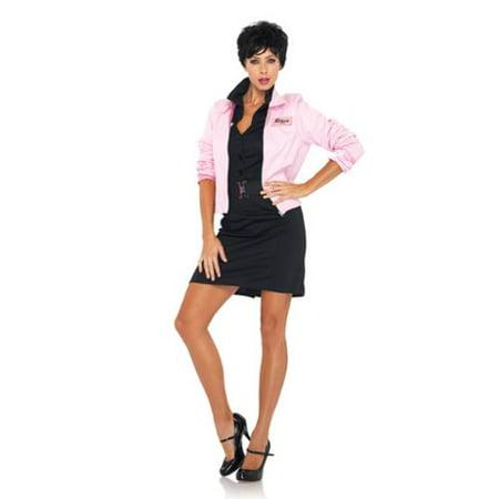 90b8b3db344ff Grease Pink Ladies Jacket Costume Women Sm - Walmart.com