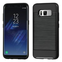 Product Image Samsung Galaxy S8 Case, by Insten Dual Layer [Shock Absorbing] Hybrid Hard Plastic