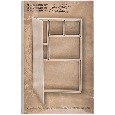 Idea-Ology Configurations Mini Chipboard Shadow Box Book, 6