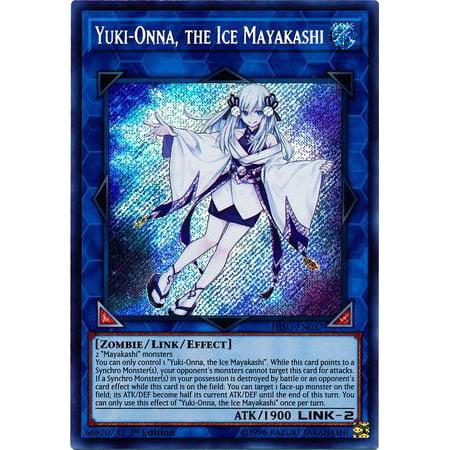 YuGiOh Hidden Summoners Yuki-Onna, the Ice Mayakashi HISU-EN037 - Ice Trading