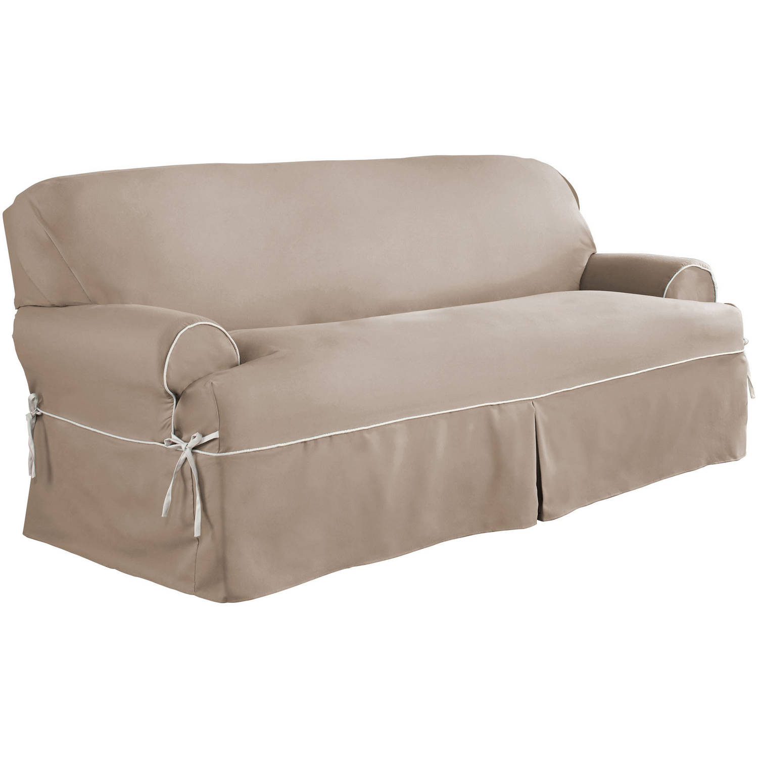 Serta relaxed fit duck furniture slipcover sofa 1 piece t cushion Loveseat cushion covers