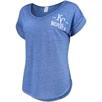 quality design 56059 2f424 Product Image Women s Concepts Sport Heathered Royal Kansas City Royals  Crosspoint T-Shirt