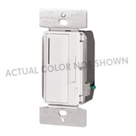 Cooper Wiring Smart Dimmer - Cooper Wiring Devices AF10-B ACCELL 1,000 Watt Fluorescent Master Smart Dimmer, Brown