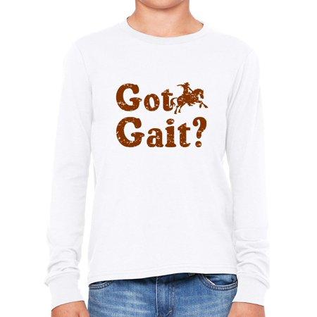 Got Gait? - Equestrian Horse Riding Boy's Long Sleeve -