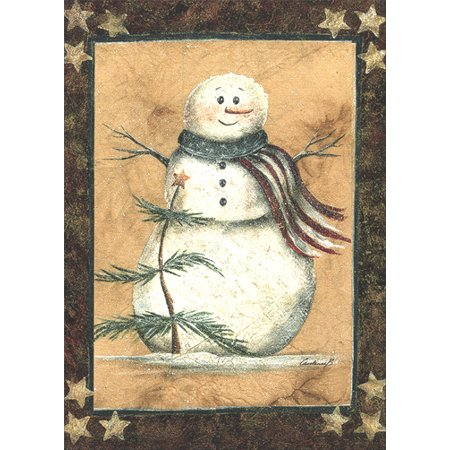LPG Greetings Proud Patriot Patriotic Christmas Card