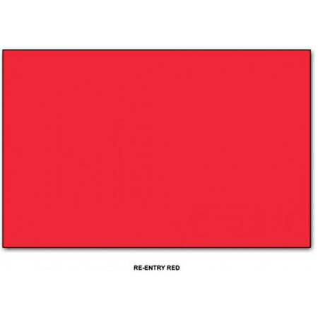 Re-Entry Red - Neenah Astrobrights Premium Color Paper, 24 lb, 11 x 17 Inches, 100 Sheets per pack](Red Paper)