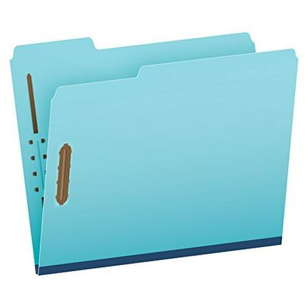 globe weis pendaflex pressboard file folder with 2 fasteners 1 inch