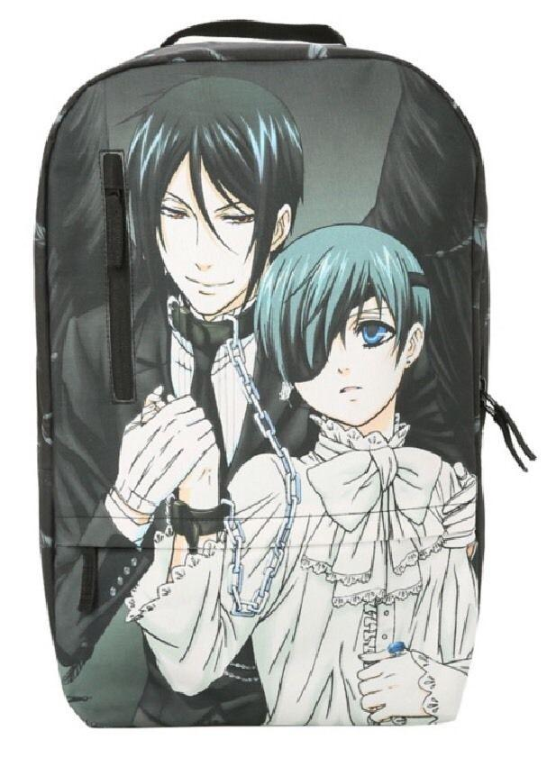 Backpack Black Butler Fashion Casual Business Backpack is Suitable for Any Travel