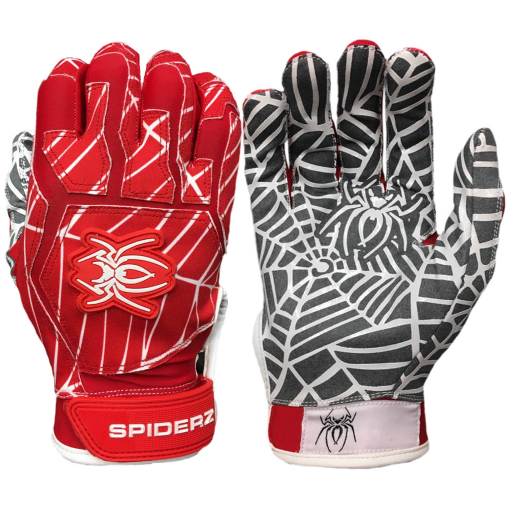 Spiderz WEB 2018 Men's Baseball/Softball Batting Gloves