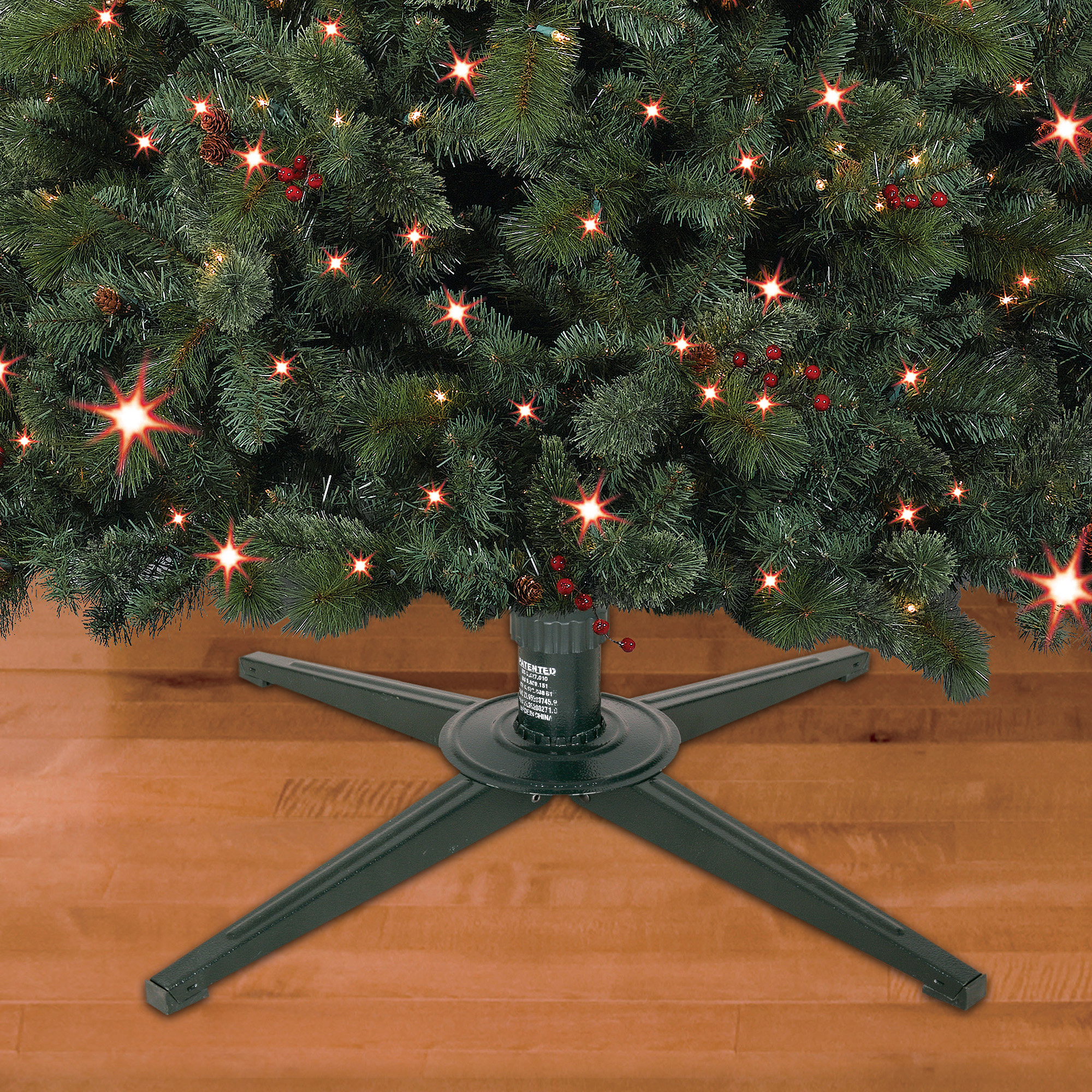Holiday Time Metal Tree Stand - Walmart.com