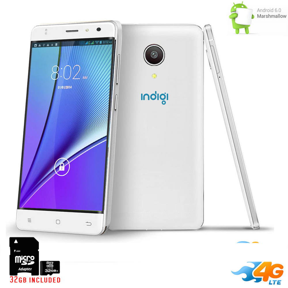 "inDigi UNLOCKED 5.0"" Android 6.0 DualSim 4G Lte Smart Pho..."