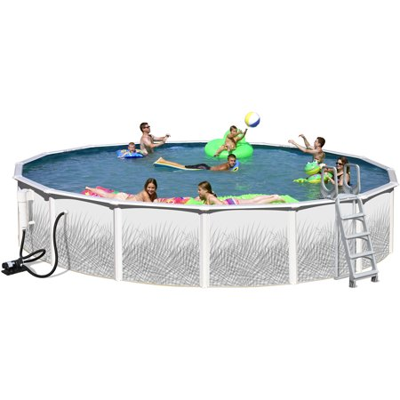 Heritage round 18 39 x 48 above ground swimming pool - Walmart above ground swimming pools ...