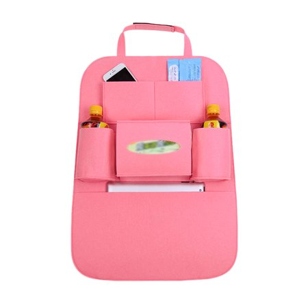 Pink Multi-Pocket Storage Bag Car Auto Vehicle  Back Hanger Holder Organizer