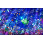 Wallhogs Sea Life Wall Mural