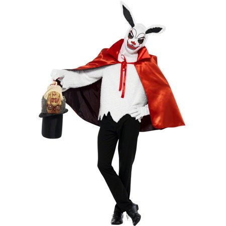 Smiffys Scary Creepy White Rabbit Magician Adult Halloween Costume for $<!---->
