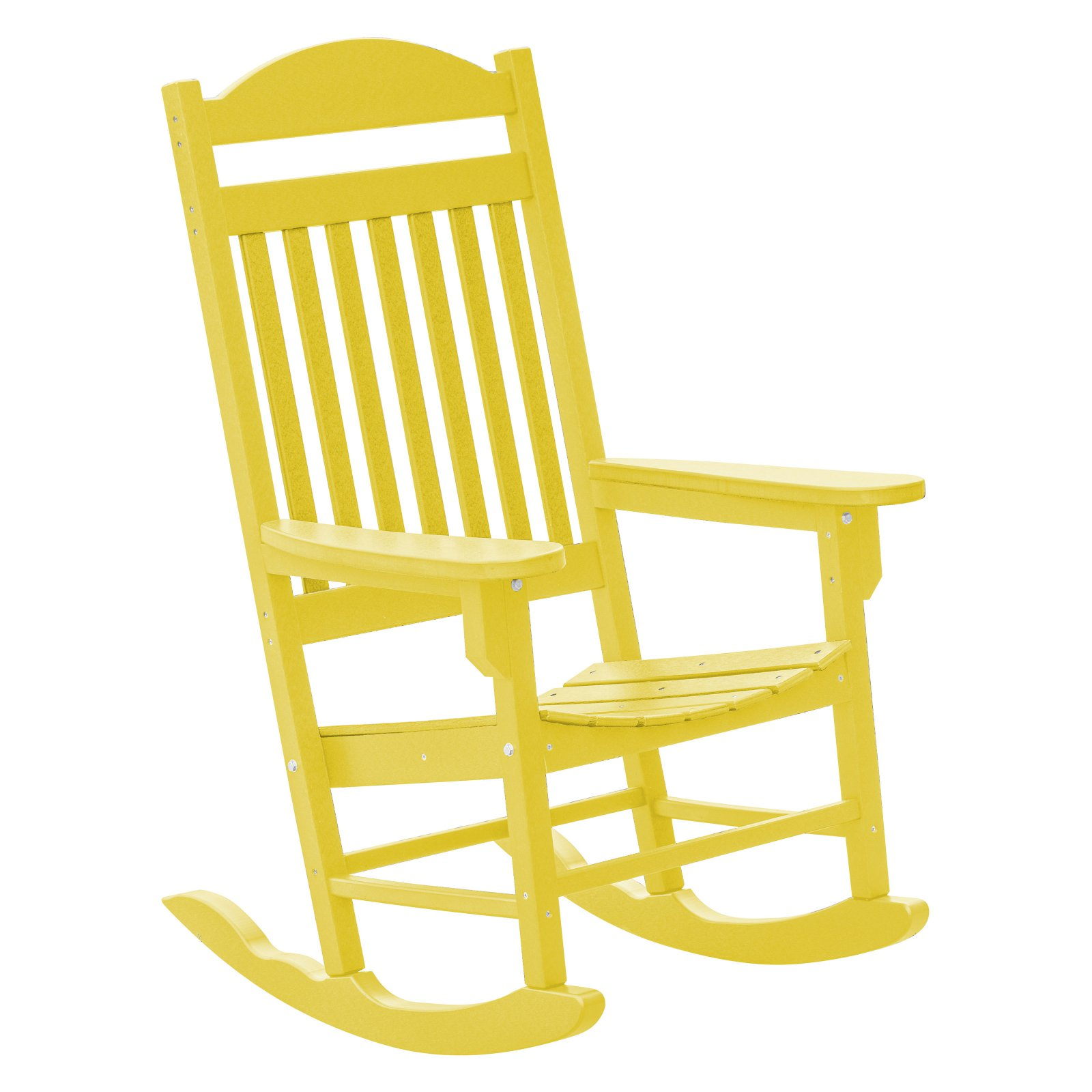 Wildridge Heritage Traditional Patio Plastic Rocking Chair